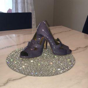 Paolo Purple Heels
